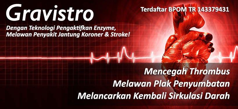 obat jantung koroner dan obat stroke iskemik gravistro